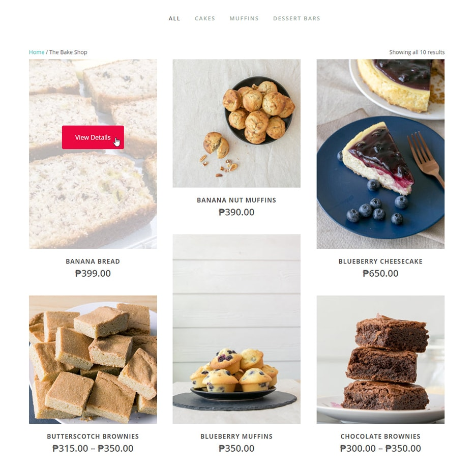 TLCB online shop baking