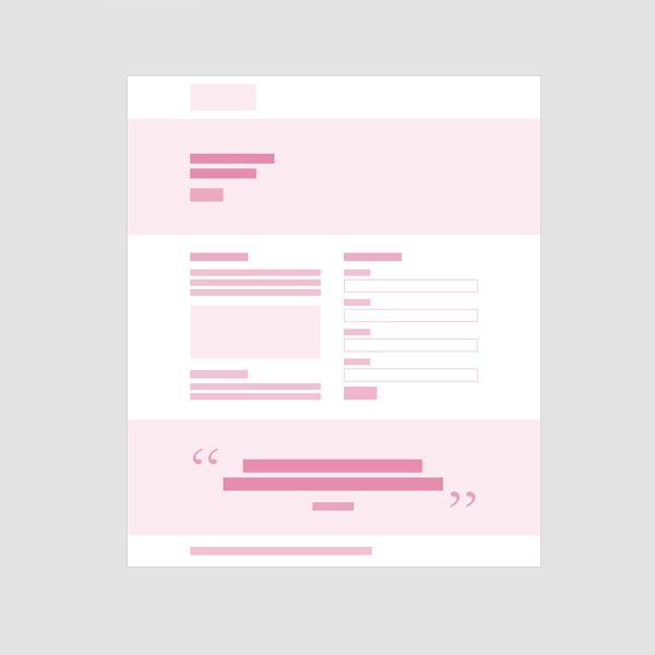 Landing Page Wireframes thumbnail